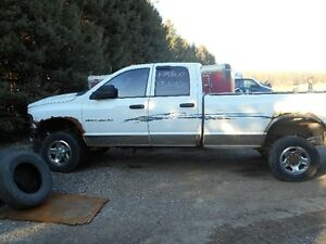 Parting out Dodge Ram 3500 diesel