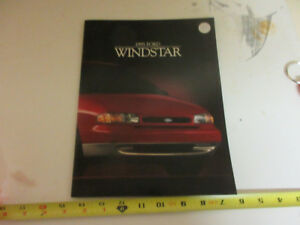 1995 FORD WINDSTAR BROCHURE