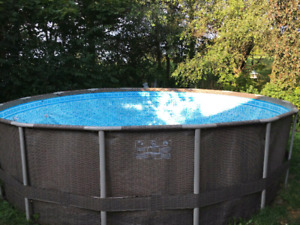 16FT X 4FT POOL! EVERYTHING INCLUDED! JUST ADD WATER!!