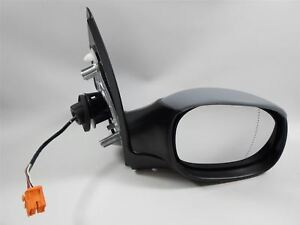 Peugeot 206 7/2003-2009 Electric Wing Door Mirror Primed Cover Drivers Side