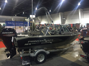 2017 Princecraft Sport 164 In stock
