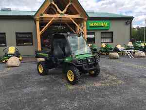 JOHN DEERE 825I -SIDE BY SIDE GATOR, UTILITY CROSSOVER -MUST SEE