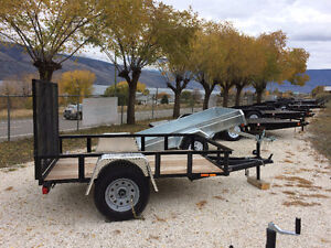NEW UTILITY TRAILERS 8`, 10`, 12` & 14`