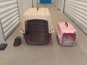 Portable Cat or Dog crates/cages