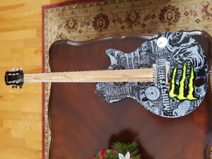 """Gibson """"Monster branded"""" guitar for sale in time for Christmas"""