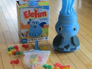 Elefun, butterfly catching game