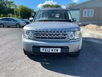 2012 Land Rover Discovery 4 3.0 SD V6 GS Auto 4WD 5dr SUV Diesel Automatic