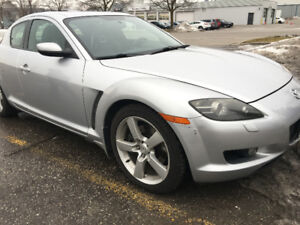2005 Rx8 GT Sunlight Silver - Engine No Comp
