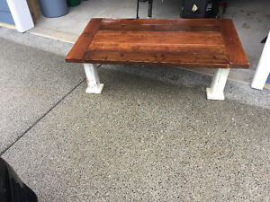 Country Rustic coffee table