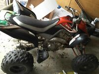 2007 Yamaha Raptor 700 special edition 4300 obo 4038616097