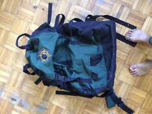65L hiking backpack good condition