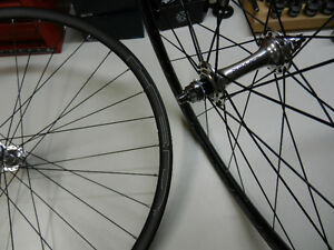Dura Ace/HED Belgium Track Wheels