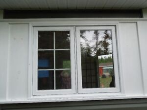WANTED  2 wood casement wind-out  windows