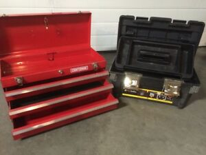 Toolboxes - like new (selling together)