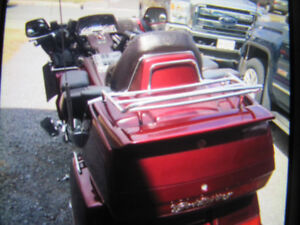 goldwing with trailer