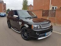 AND ROVER RANGEROVER SPORT 2.7 TDV6 HSE 2013 FACELIFT AUTOBIOGRAPHY SPEC BLACK