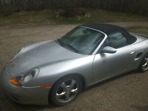 2001 Porsche Boxster Convertible - Very low kms