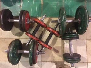Dumbell free weights