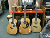 variety of guitars for sale