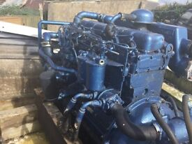 Perkins 6354 marine engine and hydraulic gearbox
