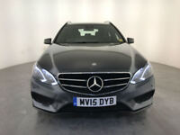 2015 MERCEDES E220 AMG NIGHT EDITION AUTO DIESEL 1 OWNER SERVICE HISTORY FINANCE