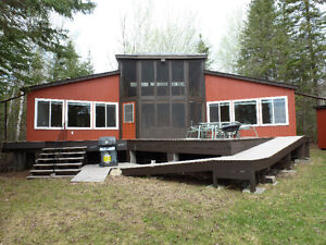 Lakefront Cottage for sale, Wheelchair Accessible, Grindstone