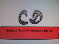 CD BOBCAT & DUMP TRAILER SERVICES