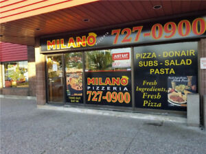 Milano Pizza for Sale  - Great Location