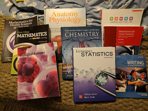 Pre-Health Science Textbooks