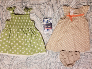 2T dresses and tights