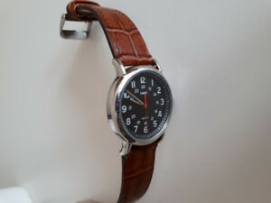Timex Weekender Unisex watch with NATO and leather strap