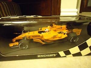 1/18 DIECAST MINICHAMPS FORMULA F1 MODELS NEW IN BOX RARE