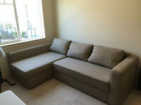 Ikea Sofa Bed with Chaise
