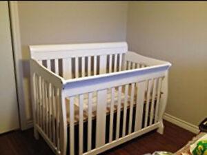 Tuscany Crib White