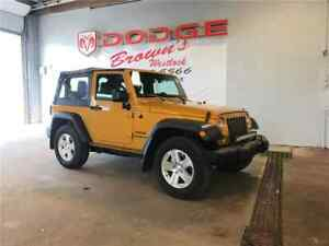 2014 Jeep Wrangler Sport 2DR / Brand NEW OFF Road Tires