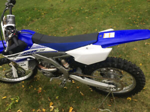 2016 yz 450f Low hours