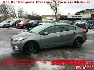2014 Kia Forte EX- One Owner, Alloy Wheels incl.