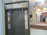 """32"""" door with sidelites and transom"""