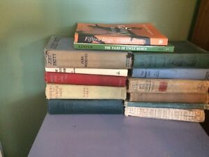Assorted antique and other books
