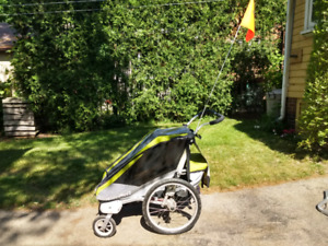 Chariot Cougar 1 stroller with accessories