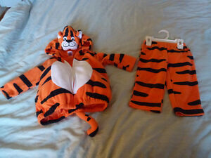 Infant / Baby Halloween Costume Tiger 12 months