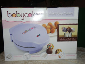 NEW BABYCAKES POP ELECTRIC MAKER & COOKBOOK