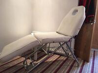 Metal beauty bed