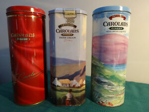 Carolans Irish Cream Liqueur Tins