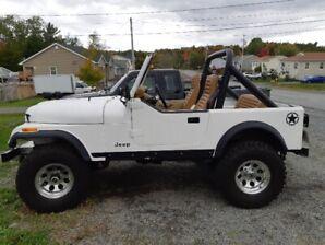 1985 CJ 7 Jeep