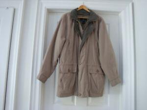 Winter LONDON FOG coat for men.