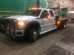 2011 Ford F-550 Flat Bed Truck