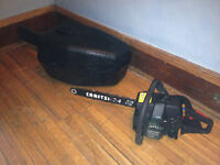 """16"""" chainsaw barely used (With Case)"""