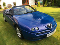 ALFA ROMEO SPIDER LUSSO 2.0 T SPARK PX TO CLEAR