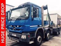 2011 Mercedes-Benz Actros 3236K Construction Trim Day Cab Package Diesel blue Ma